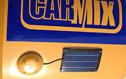 Eco trucks with solar panels
