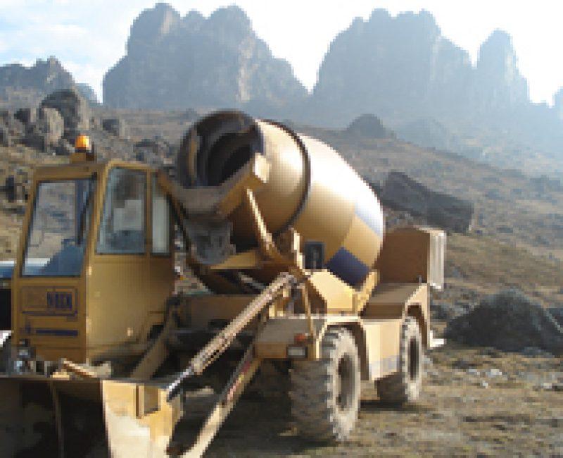 Worksite in Peru