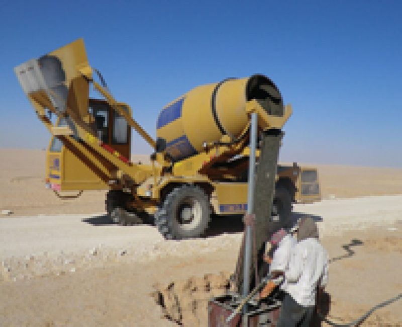 Worksite in Oman