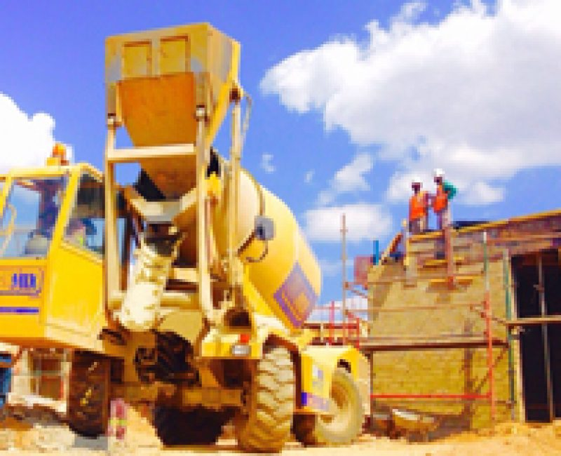 Worksite in Namibia