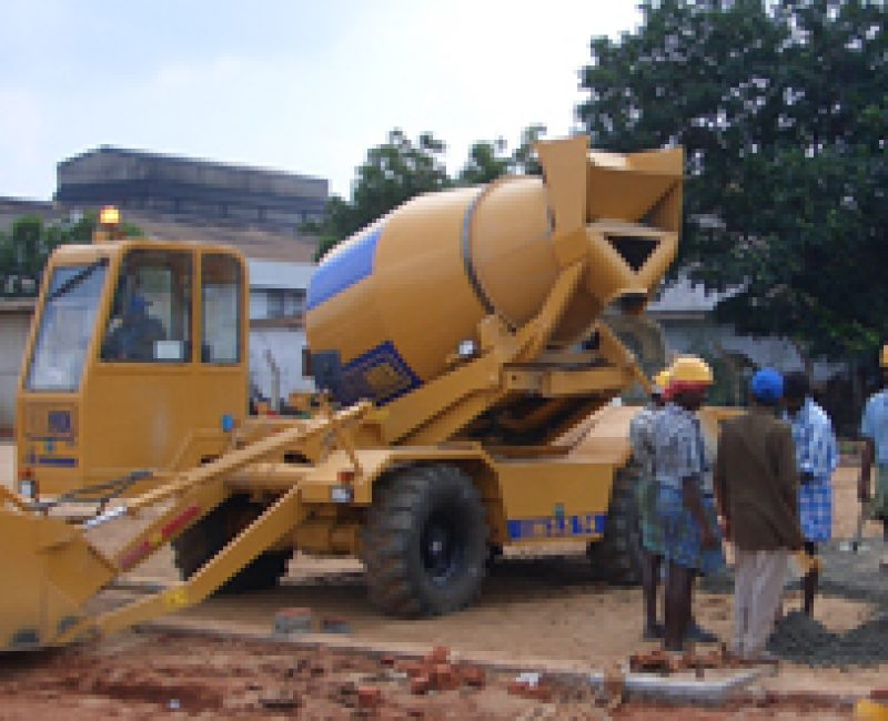 Cantiere in India