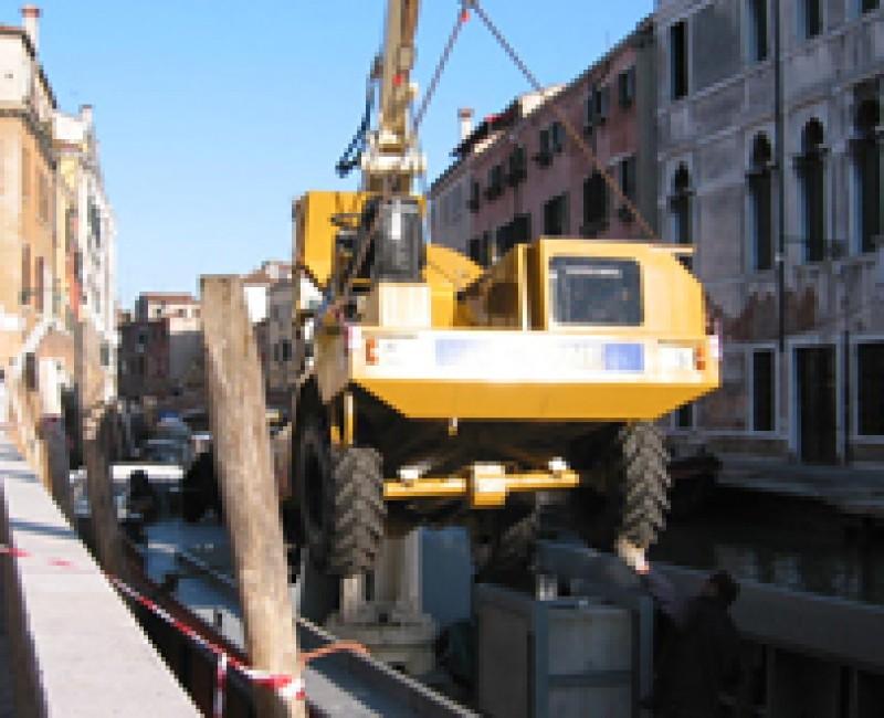 Worksite in Venice